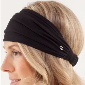 Lululemon Bang Busters Black Headband